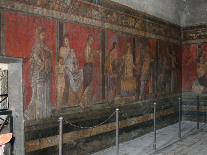 Frescoes in the Villa of Mysteries, Pompeii