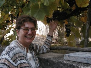 Marlie Johnson, 2004, in Calabria.