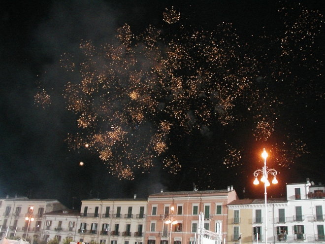 It wouldn't be Italy without fireworks!