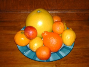 Mixed citrus--from Wikimedia Commons