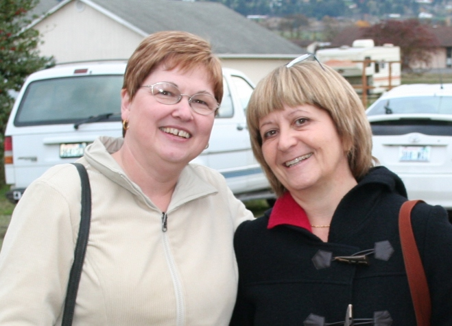 The last time I saw cousin Anna Maria (right) was 2009. I'm looking forward to seeing her again this summer!