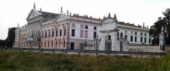 Villa Pisani. Hitler and Mussolini met here.