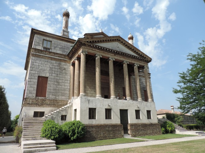 La Malcontenta, designed by Palladio.