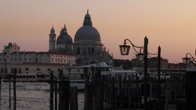 Santa Maria della Salute, photo by Vern Frykholm