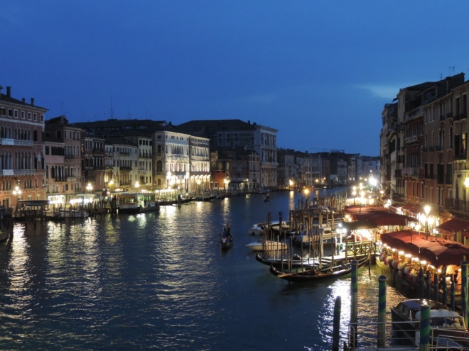Evening on the Grand Canal, photo by Sandy Frykholm