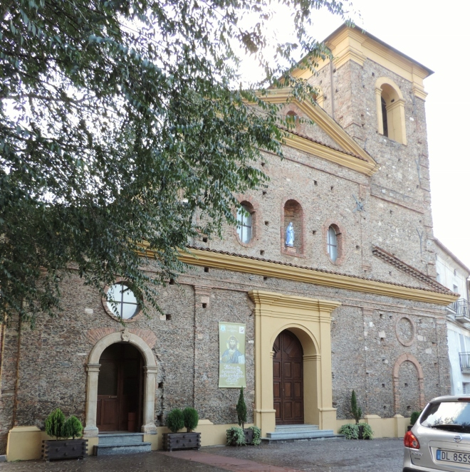San Giacomo church, where Francesco Arcuri was baptized, and where his parents were married.