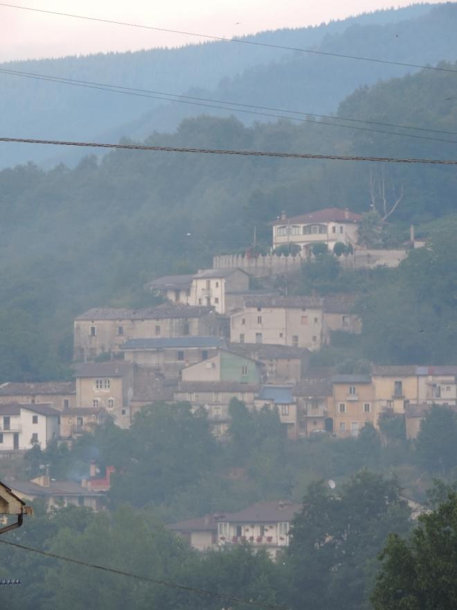 The Serra di Piro district near Bianchi.