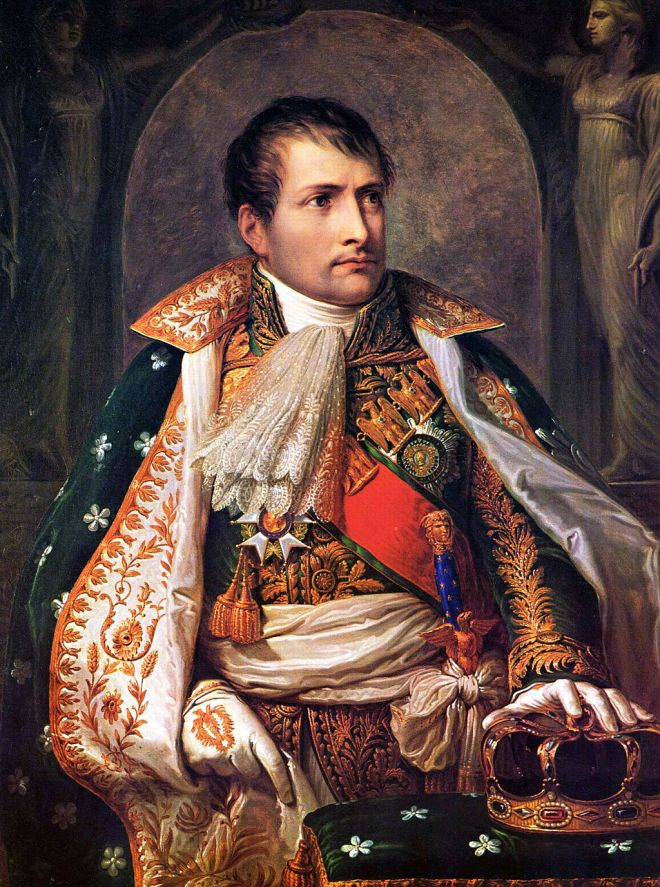 Napoleon as King of Italy,  by Andrea Appiani