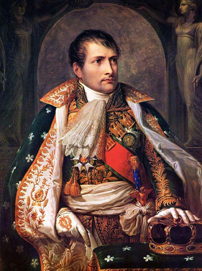 Napoleon as King of Italy,  by Andrea Appiani