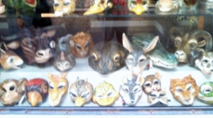 Animal masks of all sorts!