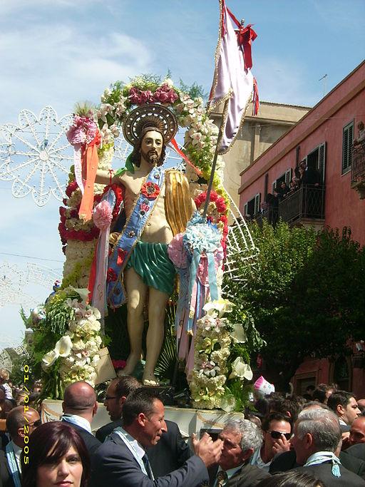Easter procession in Ribera, Sicily.
