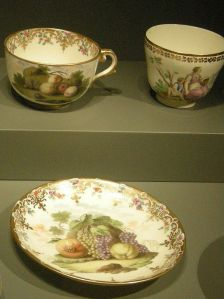 18th c. Capodimonte porcelain examples from the National Gallery of Victoria (Australia). Photo: by Sailko, from Wikimedia Commons.
