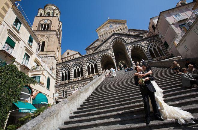 A wedding in Amalfi. © Jorge Royan / http://www.royan.com.ar / CC-BY-SA-3.0