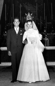 A 1950s Italian wedding.