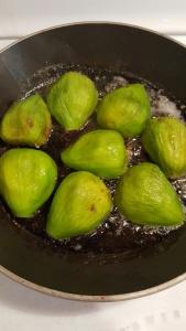 figs frying